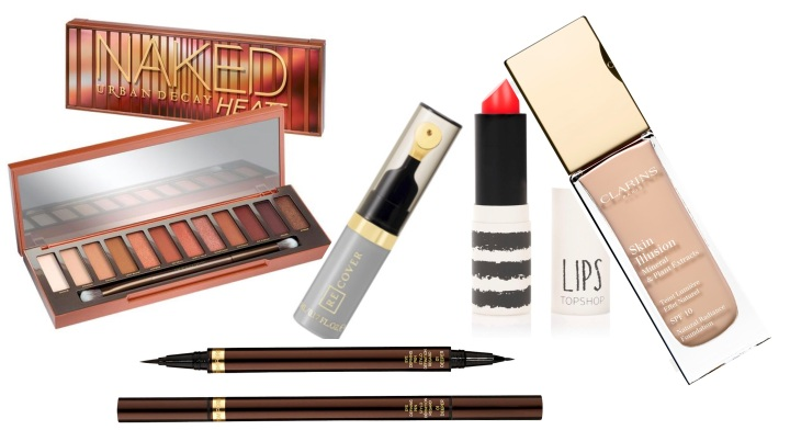 My beauty bag: five essential make-up products