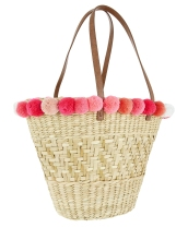 EMILY POM POM TOTE BAG £35 Accessorize