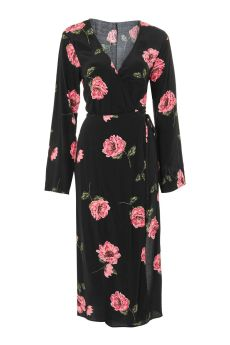 Jasmine Bloom Wide Sleeve Dress by Nobody_s Child topshop £32