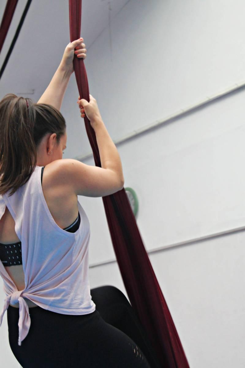 Datemakers review: Aerial silks class in Bristol