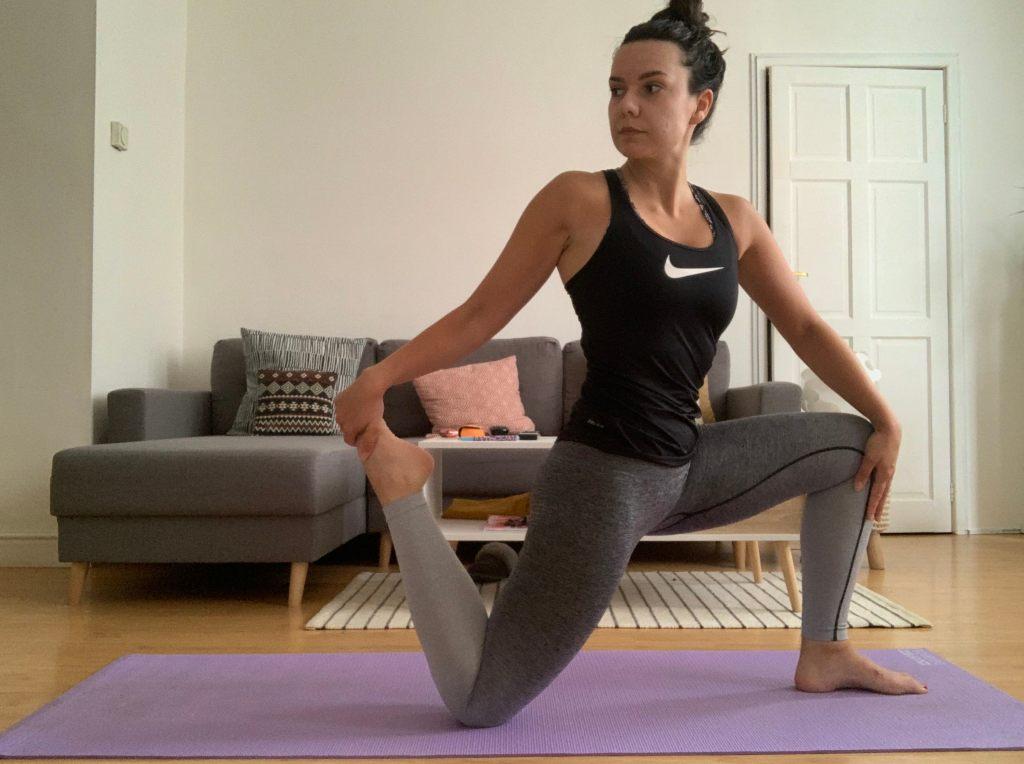 Rachel recommends 30 day splits challenge